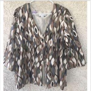 Christopher & Banks Womens XL Cardigan Sweater